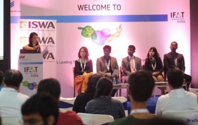 Dr. Vivek Agrawal at the IFAT-India